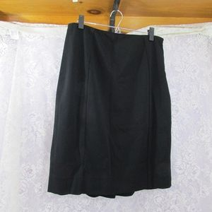 White House Black Market Skirt Size 10 Black